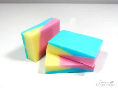 funky 3 colored soap