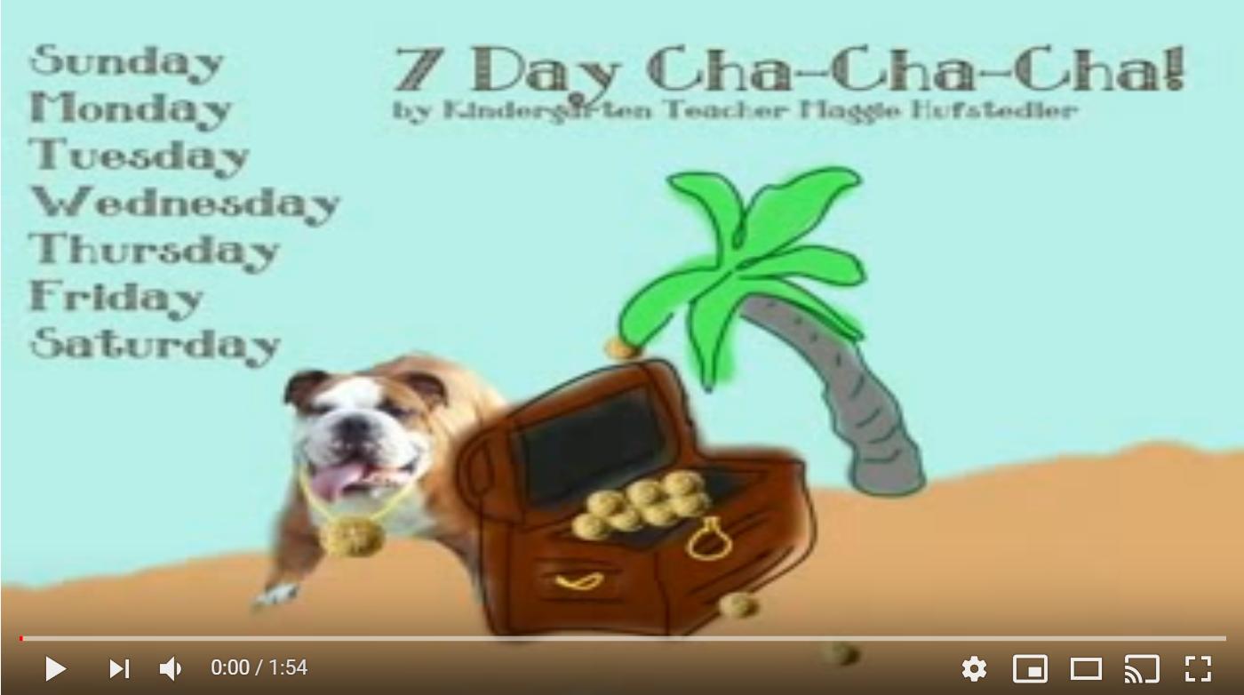 7 Days of the Week Cha-Cha-Cha
